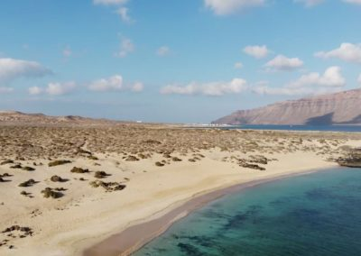 Playa La Francesa La graciosa